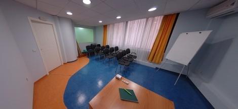 Πολυχώρος Ecovision NetΔιάθεση χώρων, γραφείων, επαγγελματικών συσκέψεων και γραμματειακής υποστήριξης.